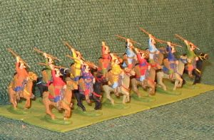 25mm Avar Light Cavalry 12 Figures